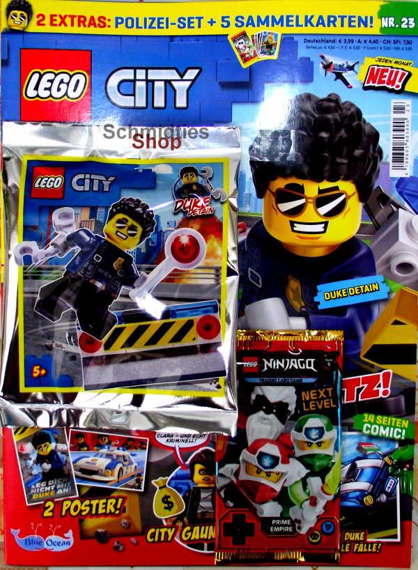 LEGO® City - mit Duke Detain und Polizei Set Nr.23-20