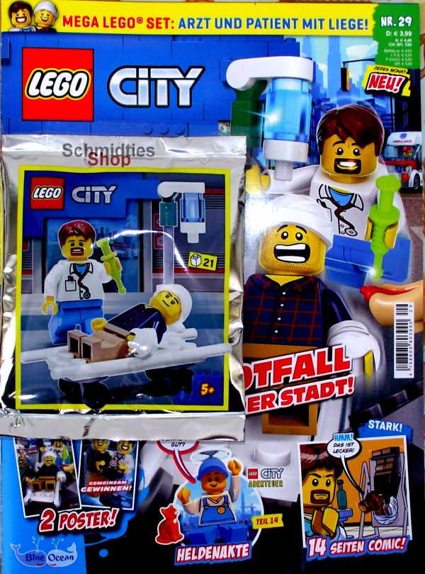 LEGO® City - mit Arzt & Patient mit Liege Nr.29-21