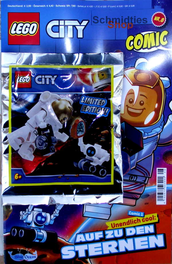 LEGO® City Comic Nr.08/2020 - Astronaut mit Roboter