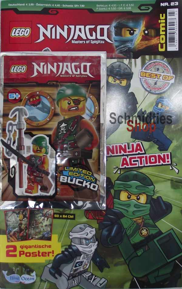 LEGO® NINJAGO Comic Nr.23/18 - Ninja Action!