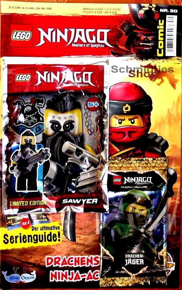 LEGO® NINJAGO Comic Nr.30/19 - Drachenstärke Ninja Action!