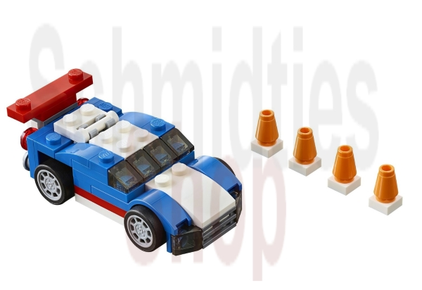 Lego® Creator 31027 - Blauer Rennwagen - NEU/OVP