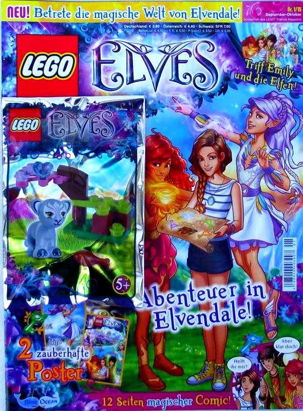 LEGO® Elves Magazin mit Zubehör - Nr.01/15 Sonderheft