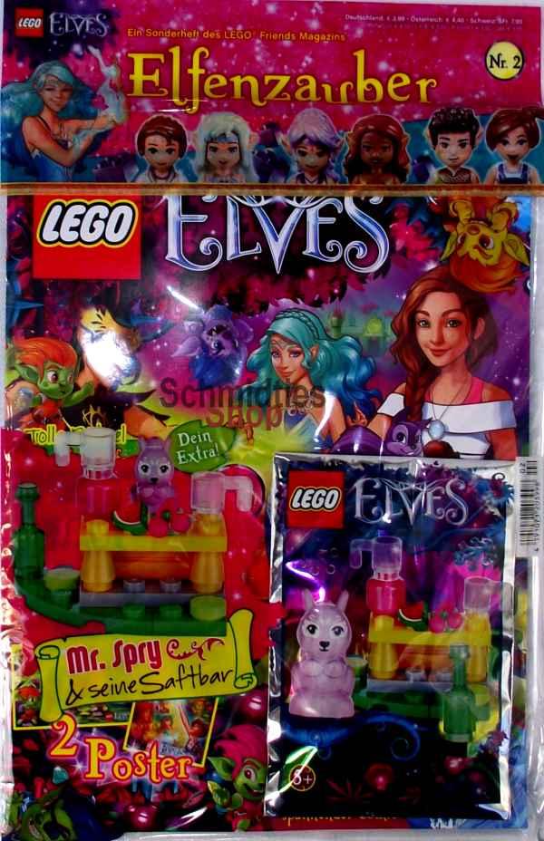 LEGO® Elves Magazin mit Zubehör - Nr.02/17 Sonderheft