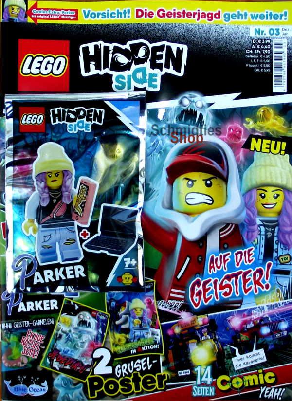 LEGO® Hidden Side Magazin mit Zubehör - Nr.03/19 Dez./Jan.