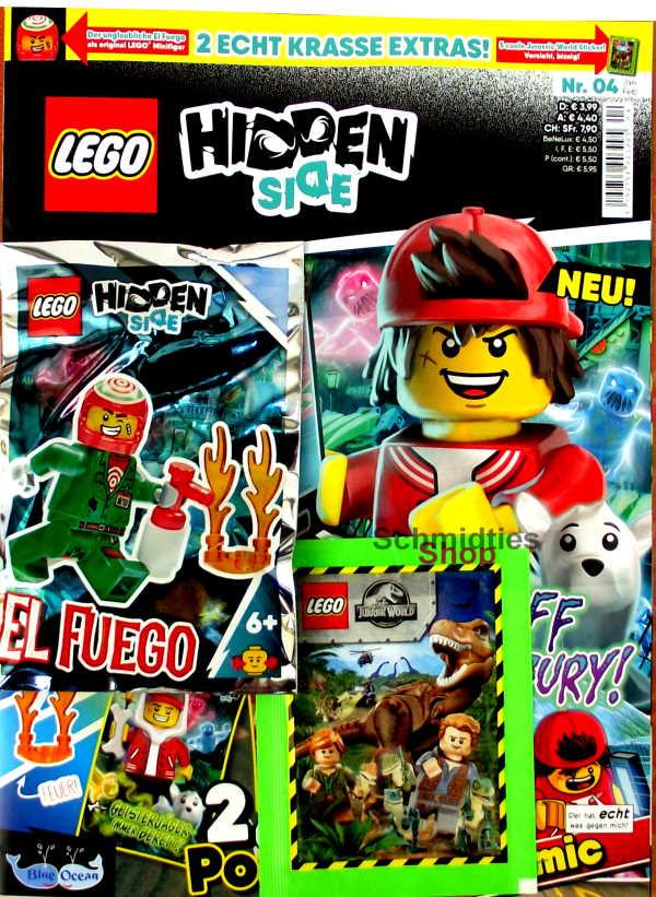 LEGO® Hidden Side Magazin mit Zubehör - Nr.04/20 Jan/Feb.