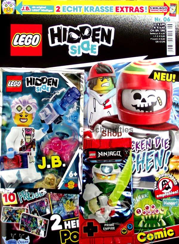 LEGO® Hidden Side Magazin mit Zubehör - Nr.06/20 Juni/Juli