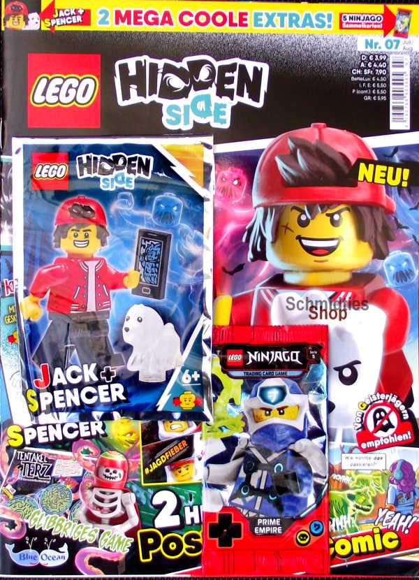 LEGO® Hidden Side Magazin mit Zubehör - Nr.07/20 Juli/Aug.