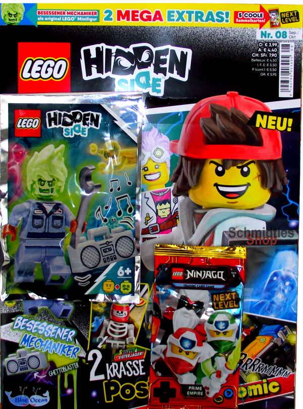 LEGO® Hidden Side Magazin mit Zubehör - Nr.08/20 Sep./Okt.