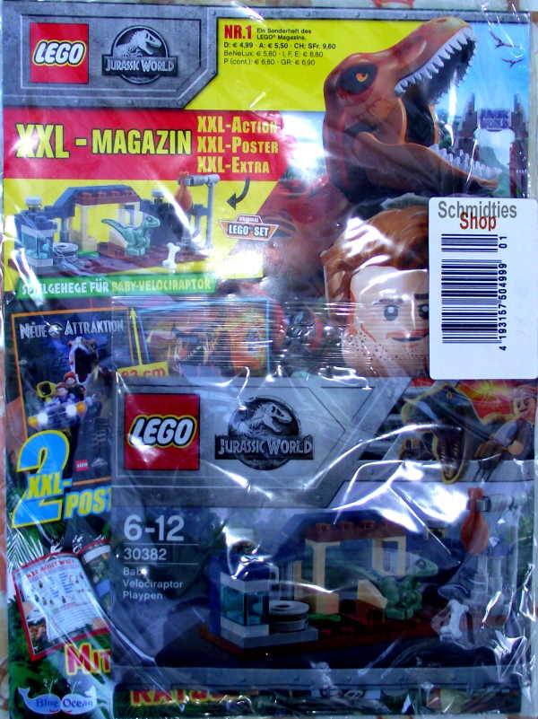 LEGO® XXL Jurassic World Sonderheft 01 - mit Polybag 30382
