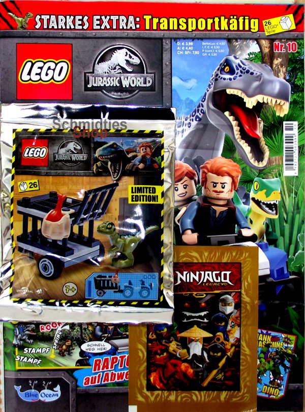 LEGO® Jurassic World Magazin mit Zubehör - Nr.10/20 Sonderheft