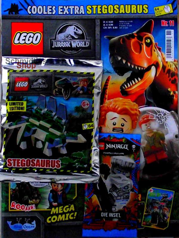 LEGO® Jurassic World Magazin mit Zubehör - Nr.11/21 Sonderheft