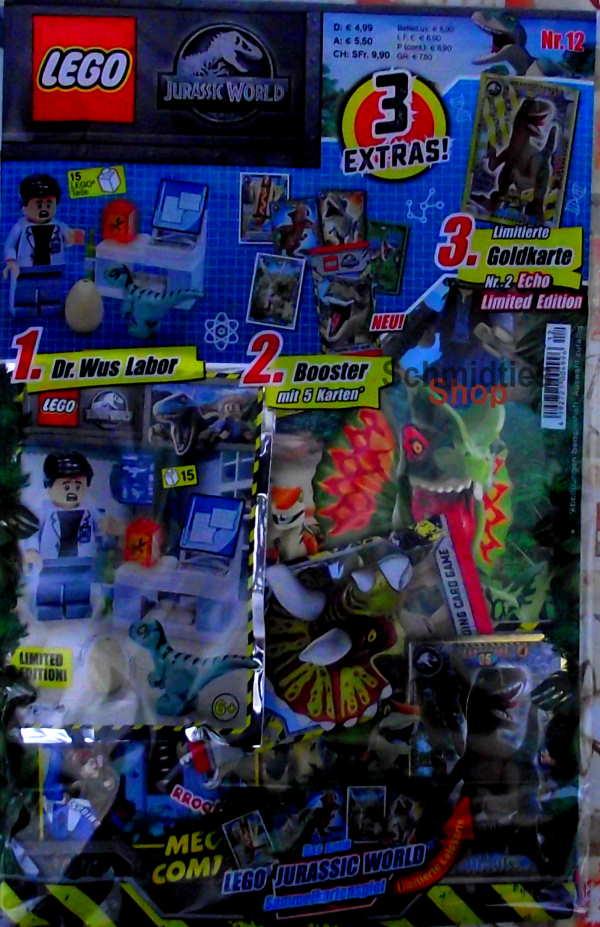 LEGO® Jurassic World Magazin mit Zubehör - Nr.12/21 Sonderheft