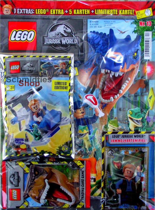 LEGO® Jurassic World Magazin mit Zubehör - Nr.13/21 Sonderheft