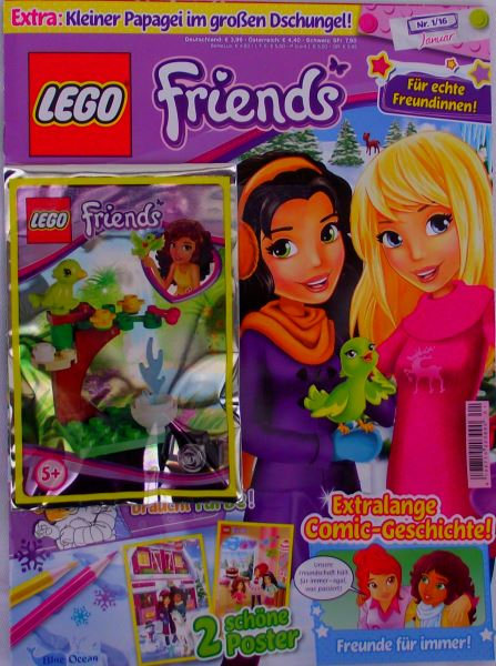 LEGO® Friends Magazin (OVP) Nr.01/16 Januar