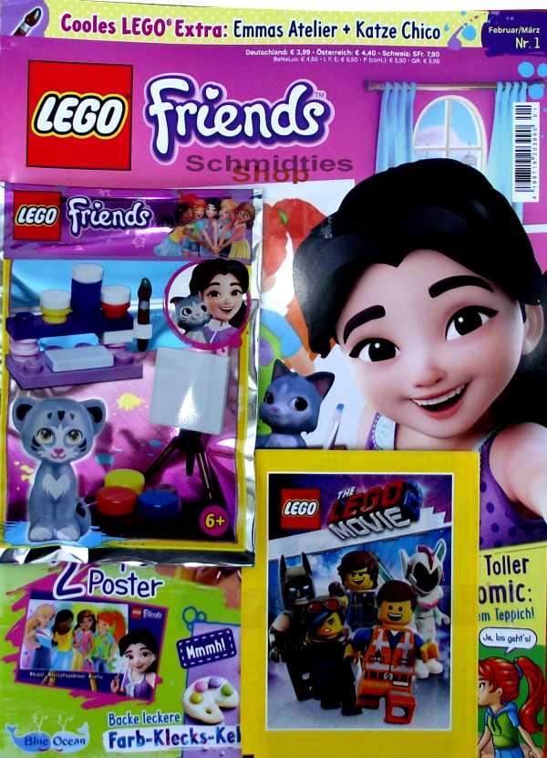 LEGO® Friends Magazin mit Zubehör Nr.01/19 Februa/März