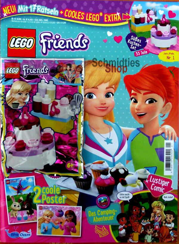 LEGO® Friends Magazin mit Zubehör Nr.01/20 Januar