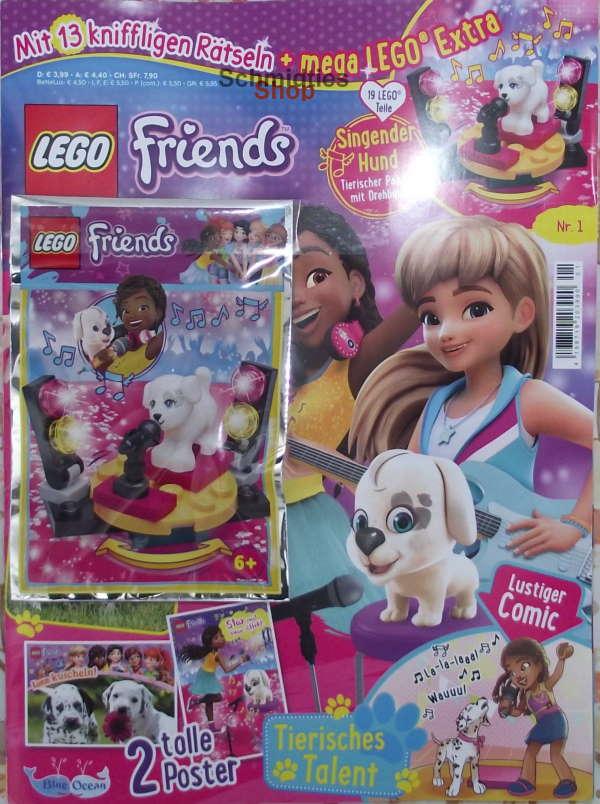 LEGO® Friends Magazin mit Zubehör Nr.01/21 Januar