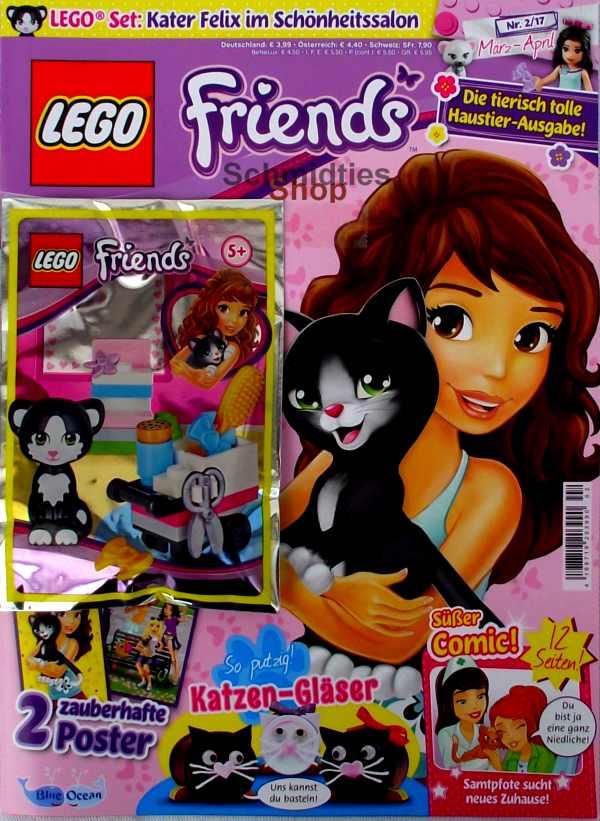 LEGO® Friends Magazin mit Zubehör Nr.02/17 März-April