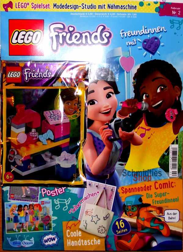 LEGO® Friends Magazin mit Zubehör Nr.02/18 Februar