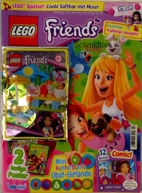 LEGO® Friends Magazin mit Zubehör Nr.03/17 Mai-Juni