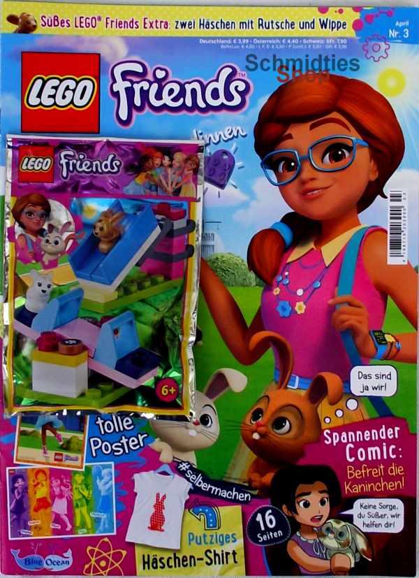 LEGO® Friends Magazin mit Zubehör Nr.03/18 März