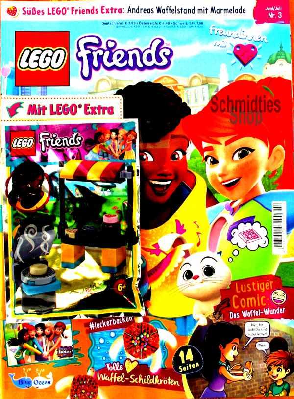 LEGO® Friends Magazin mit Zubehör Nr.03/19 Juni/Juli