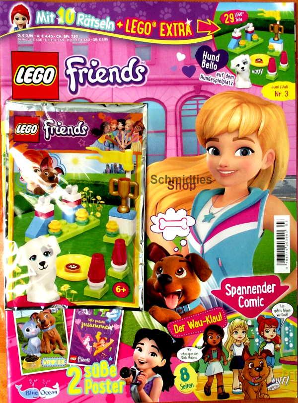 LEGO® Friends Magazin mit Zubehör Nr.03/20 Juni