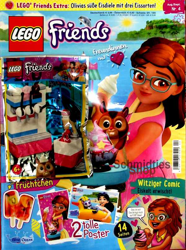 LEGO® Friends Magazin mit Zubehör Nr.04/19 Aug-Sept.
