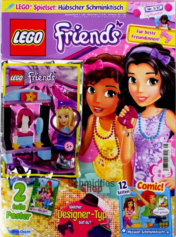 LEGO® Friends Magazin mit Zubehör Nr.05/17 September
