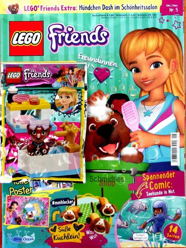 LEGO® Friends Magazin mit Zubehör Nr.05/19 Okt/Nov.