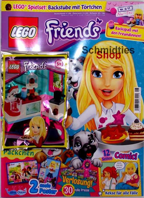 LEGO® Friends Magazin mit Zubehör Nr.06/17 Oktober