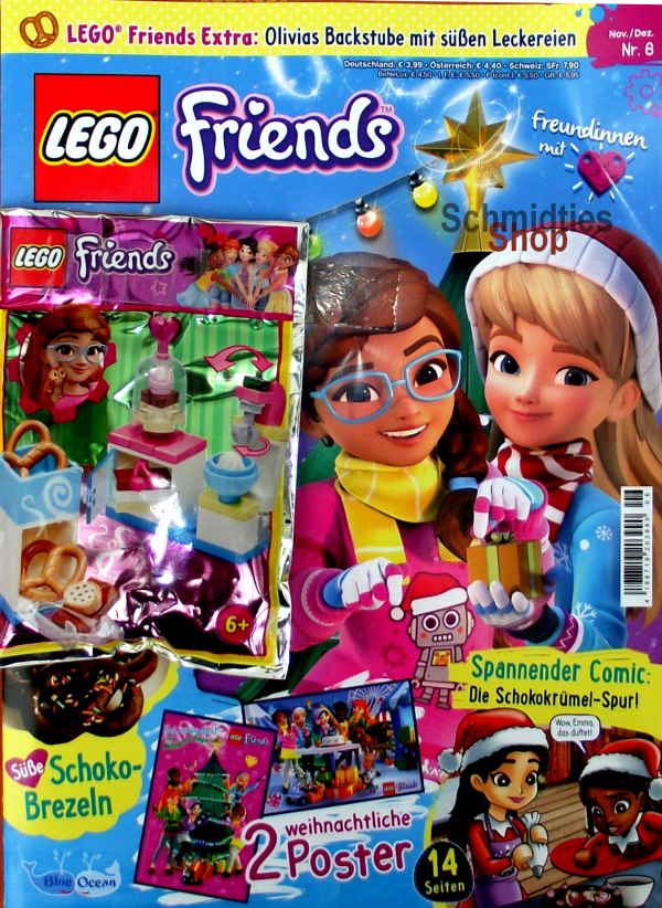 LEGO® Friends Magazin mit Zubehör Nr.06/19 Nov./Dez.
