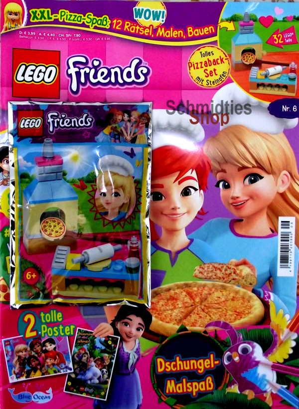 LEGO® Friends Magazin mit Zubehör Nr.06/20 Nov./Dez..