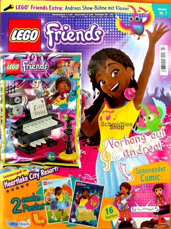LEGO® Friends Magazin mit Zubehör Nr.06/18 August