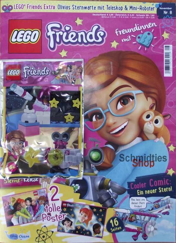 LEGO® Friends Magazin mit Zubehör Nr.08/18 November