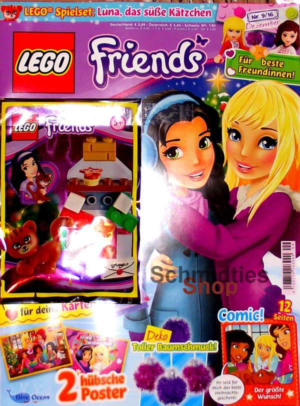 LEGO® Friends Magazin mit Zubehör Nr.09/16 Juni