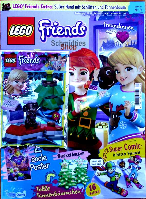 LEGO® Friends Magazin mit Zubehör Nr.09/18 Dezember
