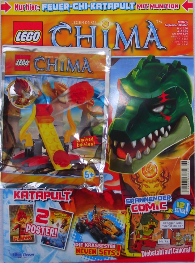 LEGO® Legends of Chima TM mit Zubehör Nr.06/15 Sept./Okt.