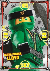 LEGO®NINJAGO Ultra-Karte - 006 - Ulta Power Lloyd