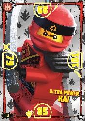 LEGO®NINJAGO Ultra-Karte - 012 - Ulta Power Kai