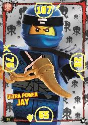 LEGO®NINJAGO Ultra-Karte - 036 - Ulta Power Jay