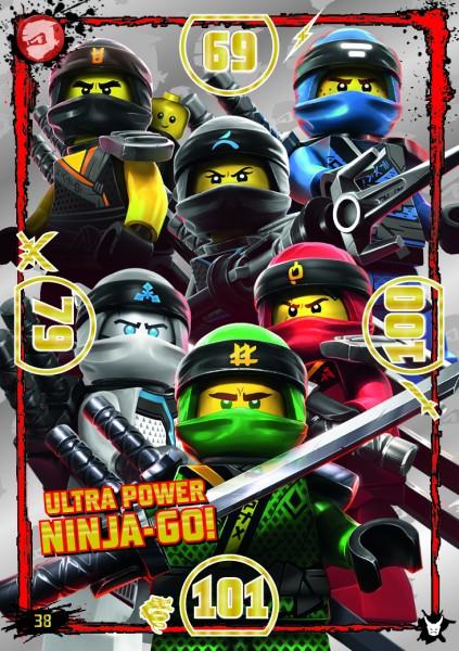 LEGO®NINJAGO Ultra-Karte - 038 - Ulta Power Ninja-Go!