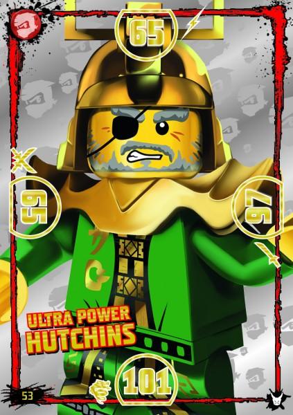 LEGO®NINJAGO Ultra-Karte - 053 - Ulta Power Hutchins