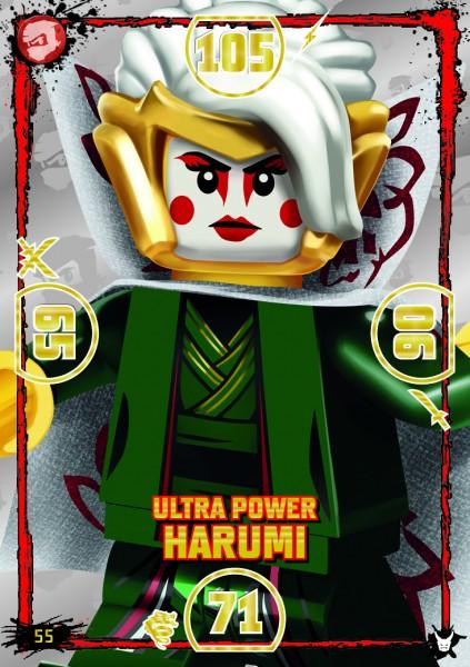 LEGO®NINJAGO Ultra-Karte - 055 - Ulta Power Harumi