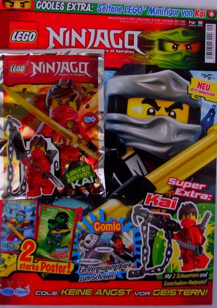 LEGO® NINJAGO Magazin (OVP) Nr.09/Januar 2016