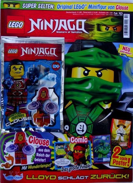 LEGO® NINJAGO Magazin (OVP) Nr.10/Februar 2016