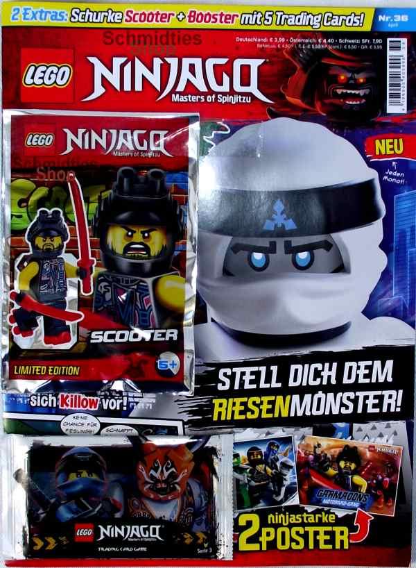 LEGO® NINJAGO Magazin mit Zubehör Nr.36/18 April