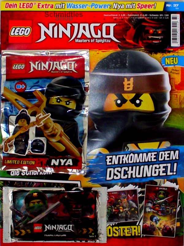LEGO® NINJAGO Magazin mit Zubehör Nr.37/18 Mai