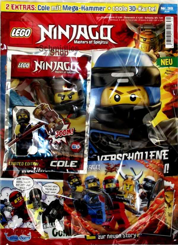 LEGO® NINJAGO Magazin mit Zubehör Nr.39/18 Juli